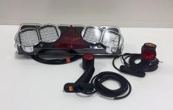 Takavalo LED-kolmiolla